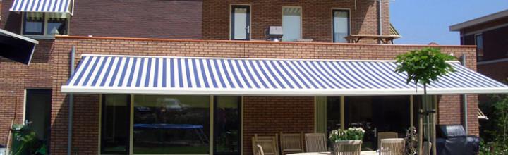 Reparartie, nieuwlevering en onderhoud aan zonweringen.